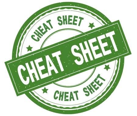 Google search commands - cheat sheet